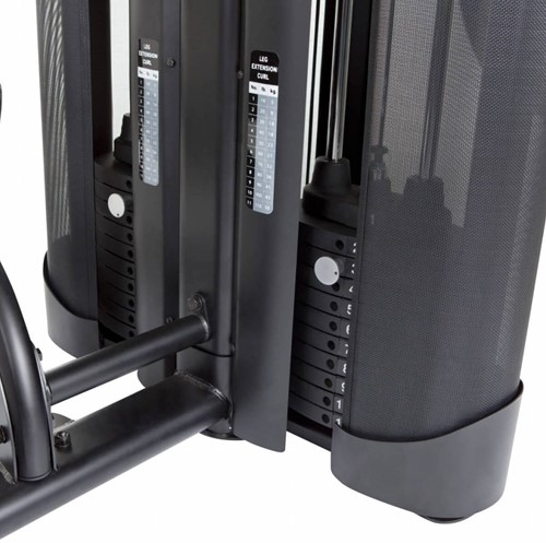 Finnlo Maximum Inspire DUAL Krachtstation - Seated Leg Extension en Leg Curl-3