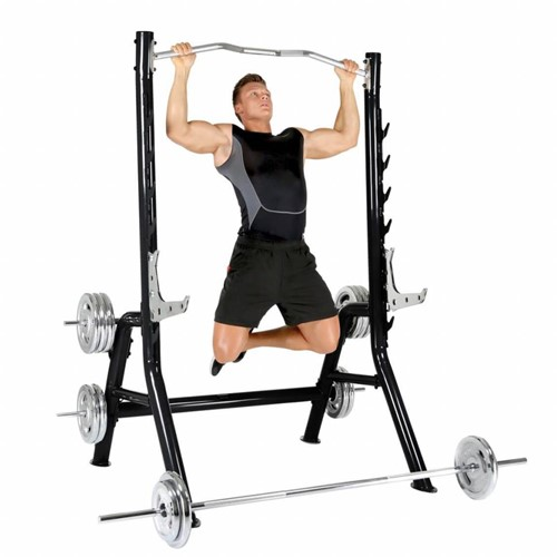 Finnlo Maximum Inspire Squat Rack met Optrekstang