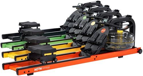 First Degree Fitness Neon Rower - Geel - Gratis montage-3