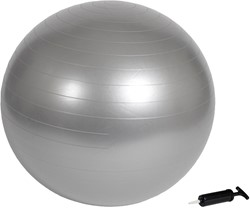 VirtuFit Anti-Burst Fitnessbal Gymbal Grijs 85 cm met Pomp