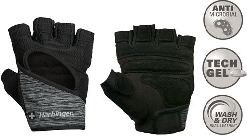 Harbinger Women's FlexFit Fitness Handschoenen - Zwart