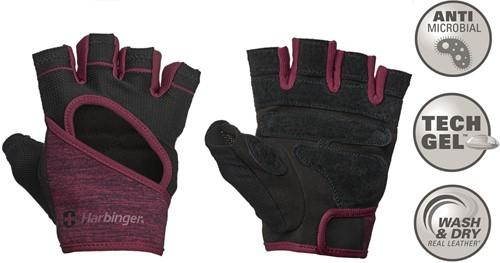 Harbinger Women's FlexFit Fitness Handschoenen - Rood