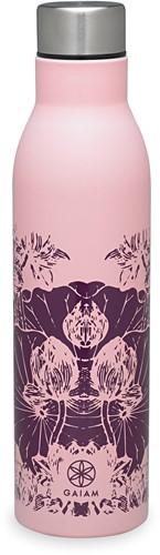 Gaiam Easy Grip Waterfles - 750 ml - Floral