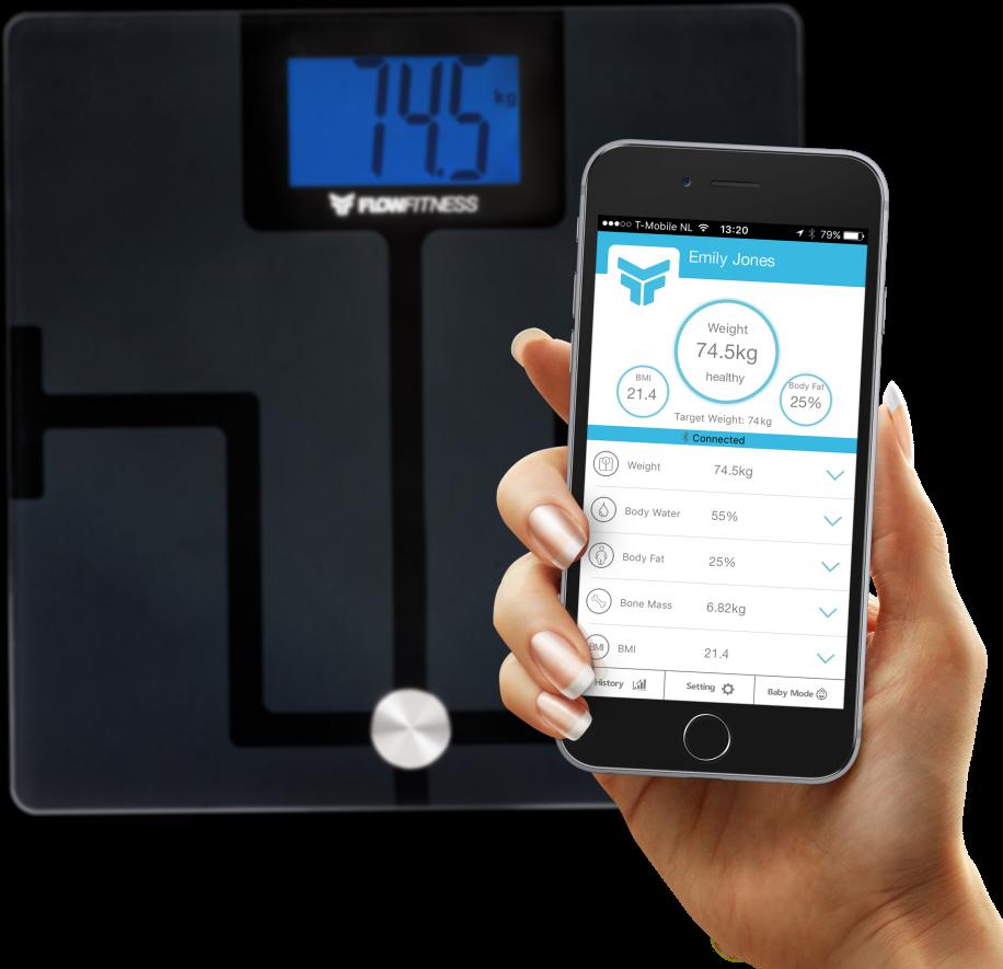 Flow Fitness Bluetooth Body Analyser