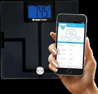 Flow Fitness BlueTooth Body Analyser BS50 Weegschaal-1