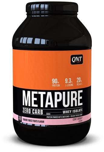 QNT Zero Carb Metapure - 908g - Yoghurt Forest Fruits