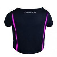Gorilla Wear Columbia Crop Top Black/Pink-2