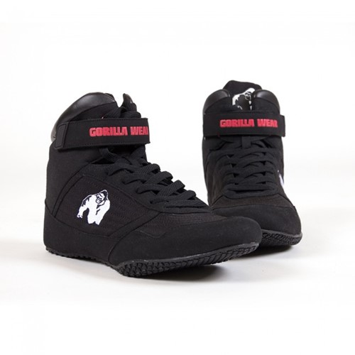 Gorilla Wear High Tops Black - Fitness schoenen-3