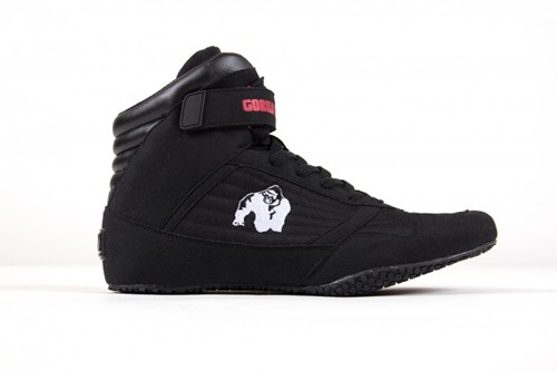 Gorilla Wear High Tops Black - Fitness schoenen