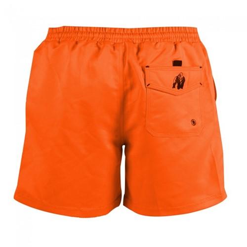 Gorilla Wear Miami Shorts - Neon Orange-2