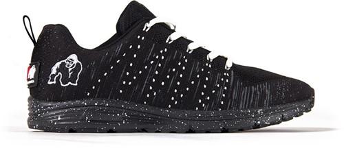 Gorilla Wear Brooklyn Knitted Sneakers (unisex) - Black/White