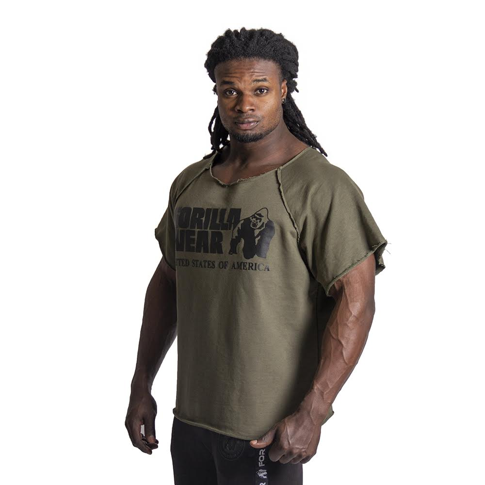 3ae0c7e24086b Gorilla Wear Classic Work Out Top - Army Green - S M - Mijn sport ...