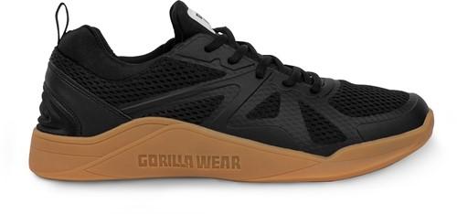 Gorilla Wear Gym Hybrids Sportschoenen - Zwart/Bruin