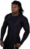 Gorilla Wear Hayden Compression Longsleeve - Black/Black