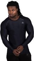 Gorilla Wear Hayden Compression Longsleeve - Black/Gray