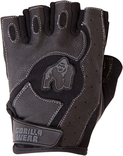 Gorilla Wear Mitchell Training Gloves - Fitness Handschoenen - Zwart