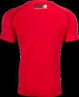 Gorilla Wear Performance T-Shirt - Rood/Zwart-2