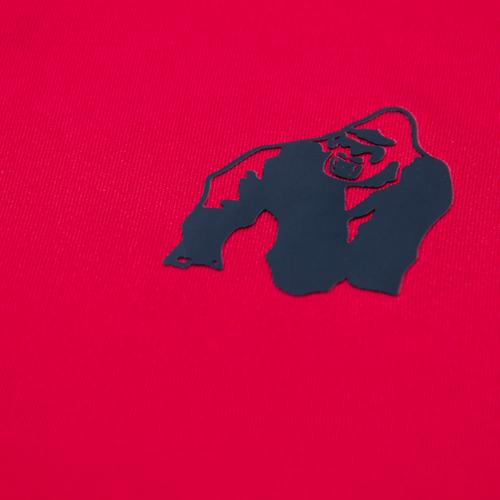 Gorilla Wear Performance T-Shirt - Rood/Zwart-3