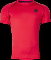Gorilla Wear Performance T-Shirt - Rood/Zwart