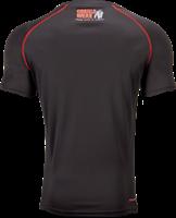Gorilla Wear Performance T-Shirt - Zwart/Rood-2