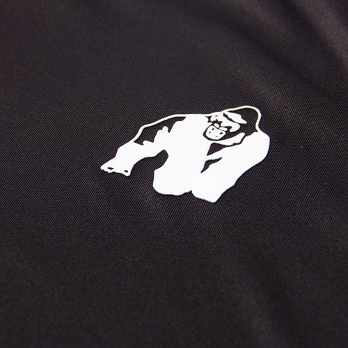 Gorilla Wear Performance T-Shirt - Zwart/Rood-3