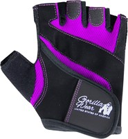 Gorilla Wear Womens Fitness Gloves Black/Purple