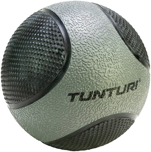 Tunturi Medicijnbal - Rubber - 5 kg - Grijs/Zwart