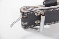 Grizzly Fitness 6 Inch Pacesetter Padded Leather Belt-3