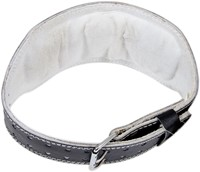 Grizzly Fitness 6 Inch Pacesetter Padded Leather Belt-2