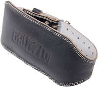 Grizzly Fitness 6 Inch Enforcer Padded Leather Belt-1