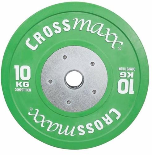 Lifemaxx Crossmaxx Competition Bumper Plate - Halterschijf - 50 mm - 10 kg