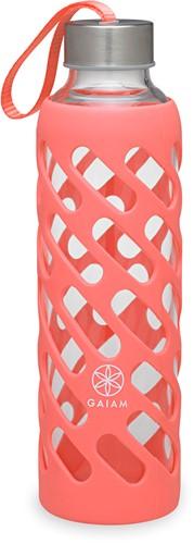 Gaiam Sure Grip Waterfles - 590 ml - Guava