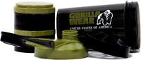 Gorilla Wear Shaker 2 GO - Zwart/Legergroen-3