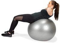 VirtuFit Anti-Burst Fitnessbal Pro - Gymbal - Swiss Ball - met Pomp - Grijs - 85 cm -3