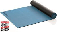 Gymstick Active 2-Tone Fitnessmat - Yogamat - met trainingsvideo's