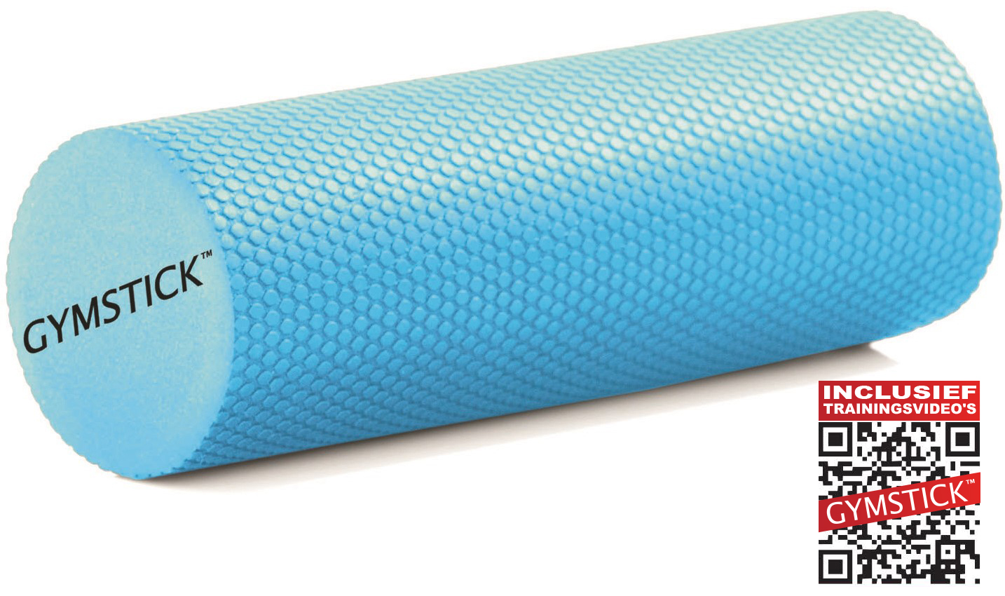 Gymstick Active Compact foam roller 30 cm - Met Trainingsvideo's