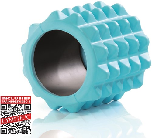 Gymstick Active Halve Foam Roller - 13cm - Met Online Trainingsvideo