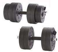 Gymstick Active Vinyl Dumbbell Set - 10kg - Met Online Trainingsvideo's-2