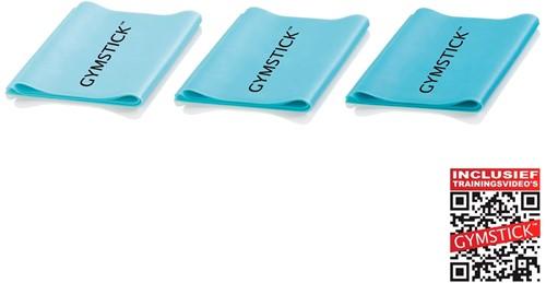 Gymstick Active Workout band set 3 stuks - Met Online Trainingsvideo's