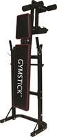 Gymstick Halterbank Met 40kg Gewichten - Demo Model (in doos)-2