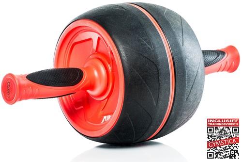 Gymstick Jumbo Ab Roller - Met Online Trainingsvideos - Tweedekans
