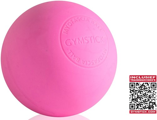 Gymstick Emotion MyoFascia Massage Bal - Pink - Met Online Trainingsvideo's