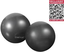 Gymstick yoga ballen 2x 1kg met Online Trainingsvideo