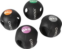 Gymstick medicijnbal met handvaten - 8 kg-2