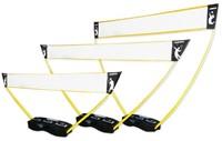 3-in-1 set - portable tennis, badminton en volleybal net-1