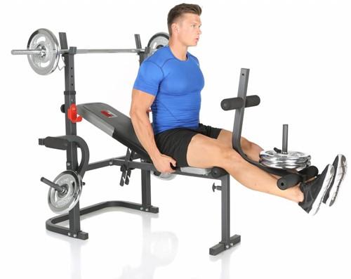 Hammer Fitness Bermuda XT Halterbank-3