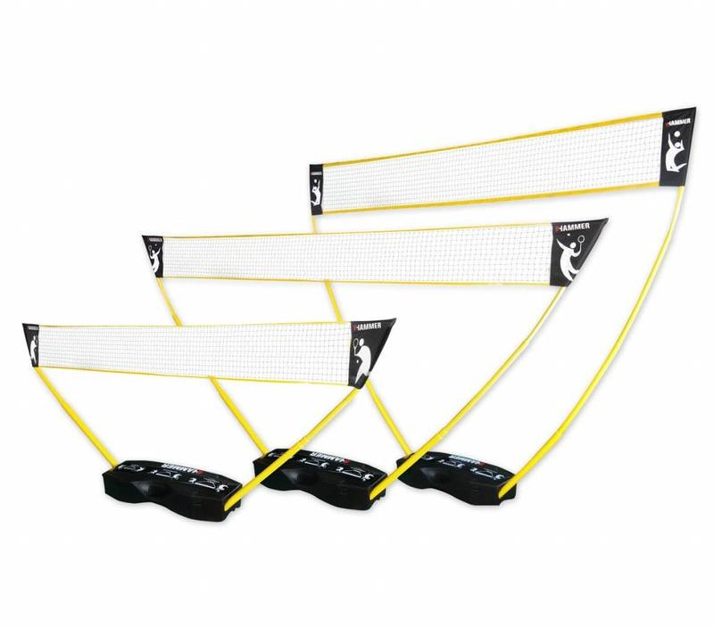 Afbeelding van 3-in-1 set - Portable Tennis, Badminton en Volleybal Net - Pro