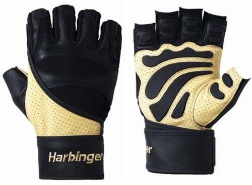 Harbinger 1205 Big Grip Wristwrap Fitness Handschoenen-S