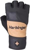 Harbinger Classic WristWrap Fitness Handschoenen Natural-2