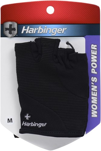 Harbinger Womens Power StretchBack Fitness Handschoenen - S-3